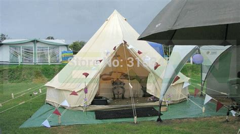 yurt trader canvas and relite wall tents waterproof 5m bell tent outdoor shade gling tents