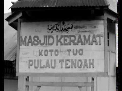 film dokumenter keramat trailer masjid keramat pulau tengah youtube