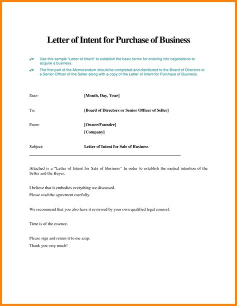 Purchase Order Letter Of Intent 7 Letter Of Intent To Purchase Target Cashier