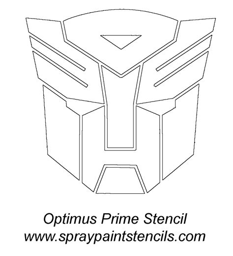 transformers logo coloring page free coloring pages of optimus prime autobot