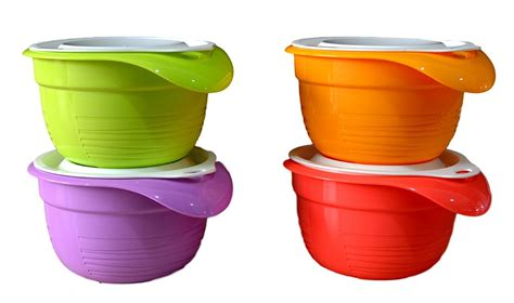 Isi 4 Bowl Set Tupperware tupperware gift set india gift ftempo