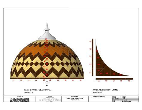 Teflon Warna gambar atap kubah enamel pembuat atap kubah masjid