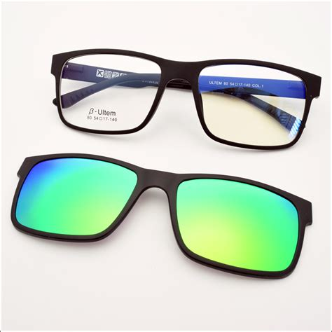 Raybn Clip On Magnet 802 magnetic polarized clip on sunglasses shopping center