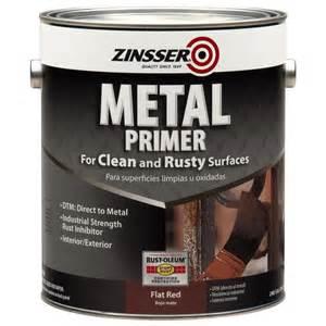 Patio Furniture Paint by Shop Zinsser Metal Interior Exterior Oil Primer Actual