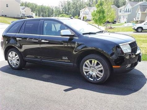 2008 lincoln mkx limited edition purchase used 2008 lincoln mkx base sport utility 4 door 3