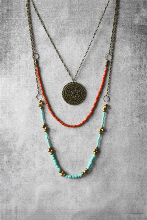 25 best ideas about bohemian necklace on