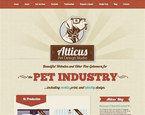 16 inspiring exles of retro and vintage elements in web