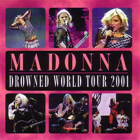 Dvd Madonna Drowned World Tour 2001 Madonna Drowned World Tour 2001 2cd Giginjapan