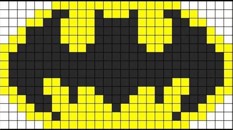 hama batman patr 243 n hama emblema de batman