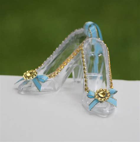 cinderella glass slipper favor 11 best diy glass slippers images on