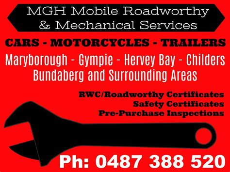 boat mechanic gympie mgh mobile roadworthy mechanical services home facebook