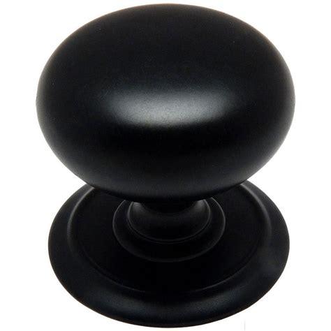 Cabinet Knobs Black by Cosmas Flat Black Cabinet Knob 6542fb