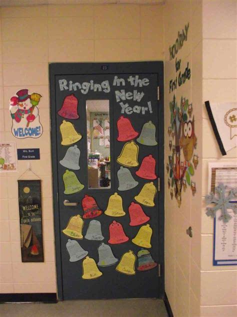 new year teaching ideas new year classroom door decorations kapan date