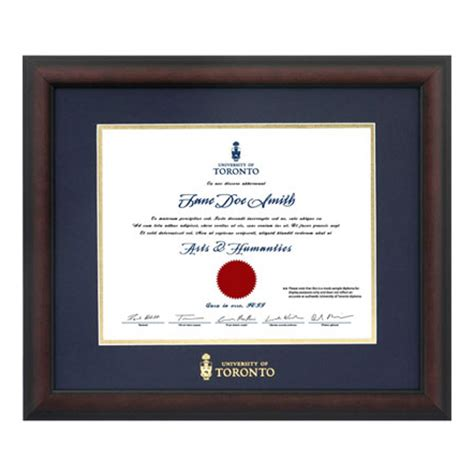 Mba Distinction Business Card by New Diploma Briarwood Frame Of Toronto Bookstore