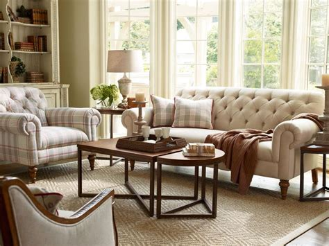 Tufted Living Room Furniture by Richmond Traditional Tufted Fabric Sofa Set Chair Living Room Furniture Gardens