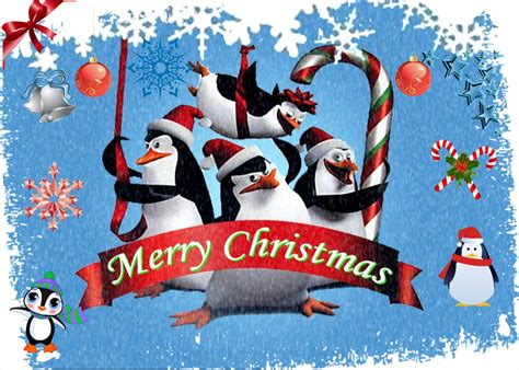 penguins at christmas penguins of madagascar fan art