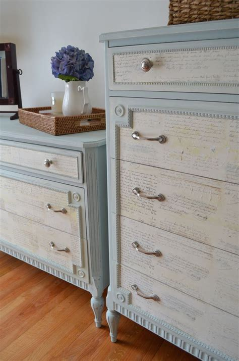 blue and white chalk painted dresser 262 best images about chalk paint 174 dressers on