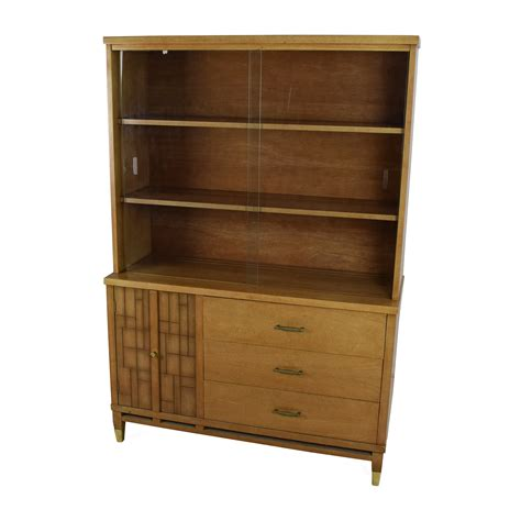 second hand bookcases for sale 53 off tall vintage mid century style display case