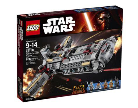 lego wars 75158 rebel combat frigate les visuels