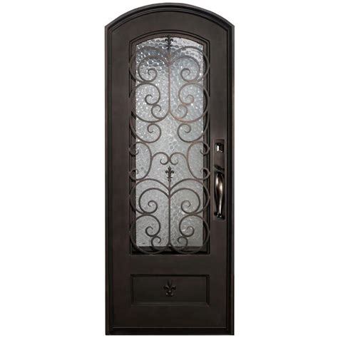 Bronze Door by Iron Doors Unlimited 38 In X 82 In Orleans Classic 3 4