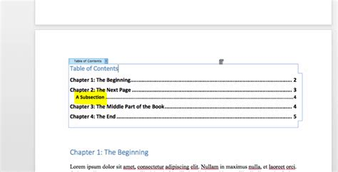 create table of contents in word how to create a table of contents in word bettercloud