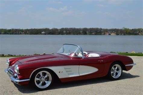 corvette 1960 price 1960 chevy corvette resto mod convertible custom for sale