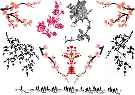 cherry blossom tribal tattoo 5 new cherry blossom designs