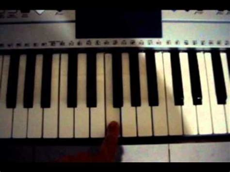 tutorial piano jurassic park how to play jurrasic park on the piano simple doovi