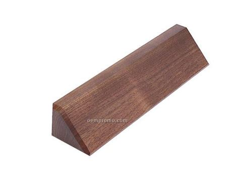 Wedges G01 name plate wedges walnut 2 quot x 8 quot china wholesale name
