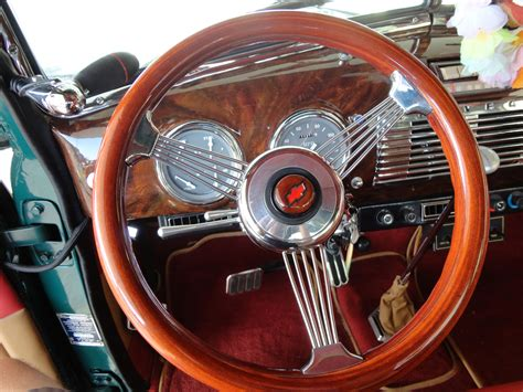1950 chevrolet 3100 custom woody retro interior h