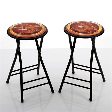 Busch Light Bar Stools by Beverage Branded Padded Barstools