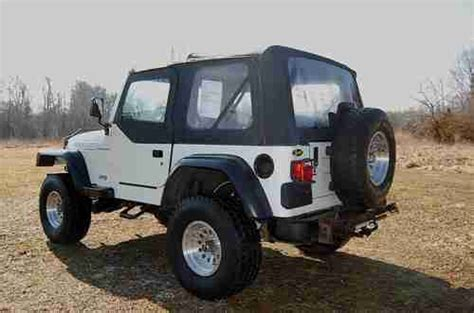 cool jeep wheels sell used cool 1997 jeep wrangler lift 33 quot wheels