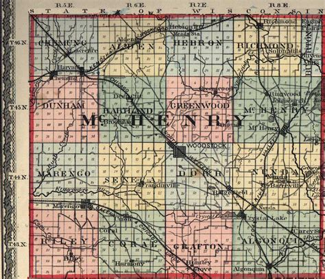 Mchenry County Il Records Mchenry County Illinois Maps And Gazetteers