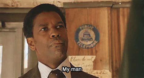 Denzel Washington My Nigga Meme - nike air jordan 1 retro quot storm blue quot the aftermath no