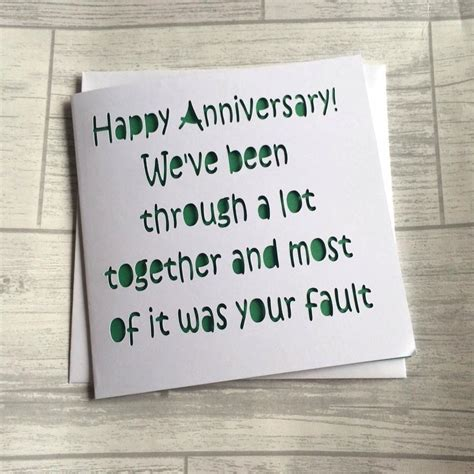 Anniversary Cards For Him Uk