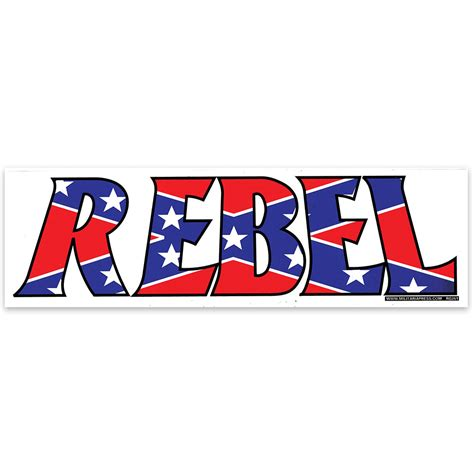 Rebel Bumper Stickers