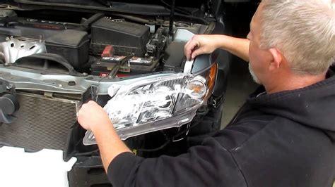 Toyota Change Cost Change Headlight Assemblies On A 2007 2011 Toyota Camry