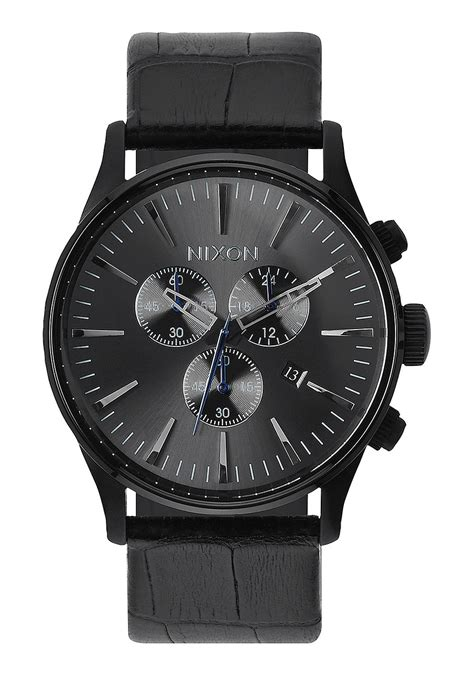 Nixon Diesel 2 sentry chrono leather s watches nixon watches and
