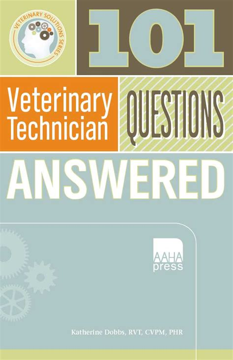 101 veterinary technician questions answered vetbooks