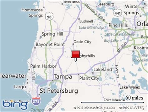 map of zephyrhills florida area rv travels with and al winter home base