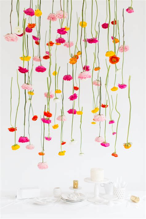 How To Make Paper Hanging Decorations - 45 creative diy wedding backdrops bespoke wedding