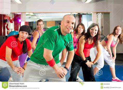 video tutorial zumba fitness fitness zumba dance workout in gym stock photos image