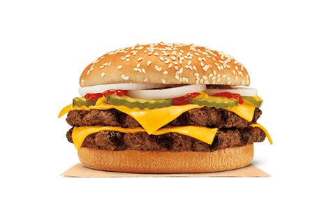 burger kings rivals mcdonalds with new double quarter