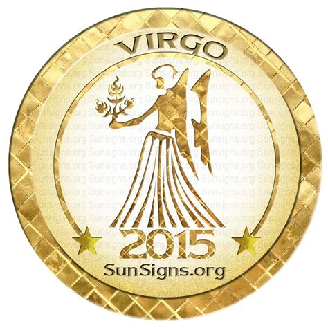 virgo horoscope 2015 predictions sun signs