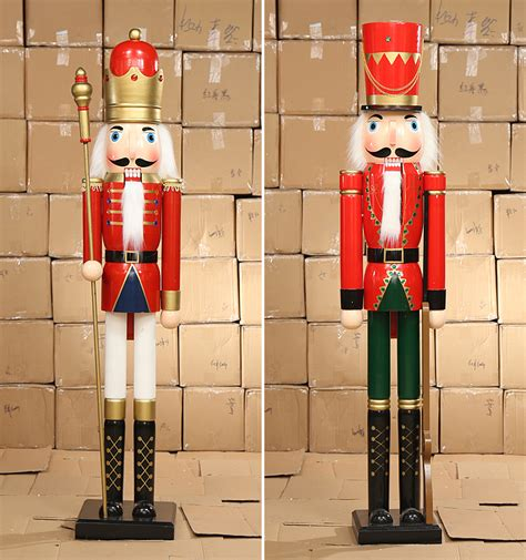 nutcracker drummer soldier statue large tall big outdoor