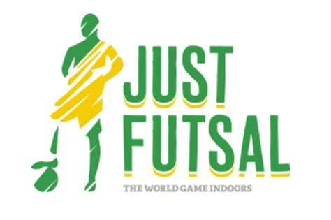 design logo futsal local futsal just futsal bankstown basketball stadium