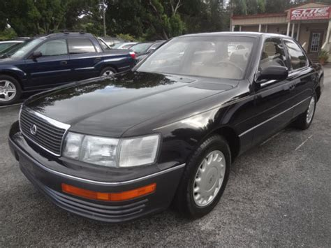 auto air conditioning repair 1990 lexus ls auto manual lexus ls sedan 1990 black for sale jt8uf11e8l0000718 1990 stunning ls 400 premium 1 owner 94183
