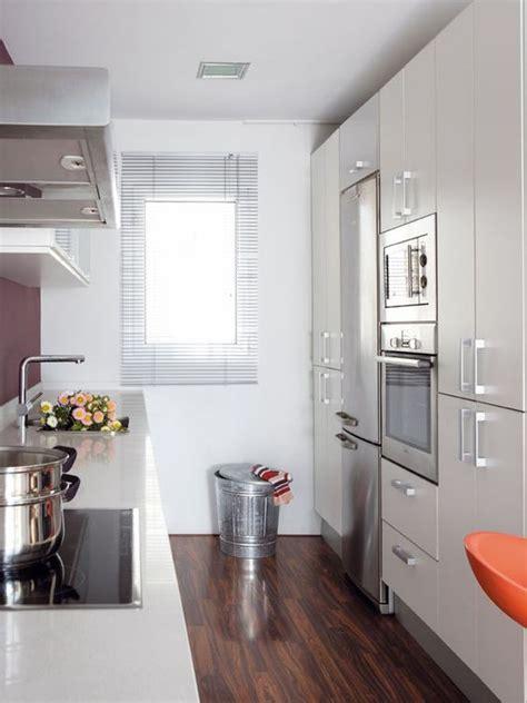 decoracion cocinas alargadas