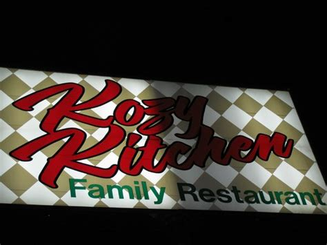 kozy kitchen sign after billede af coos bay oregon