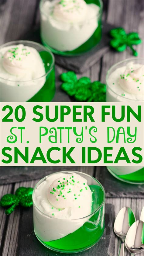 s day snack ideas 20 st s day snack ideas a craft in